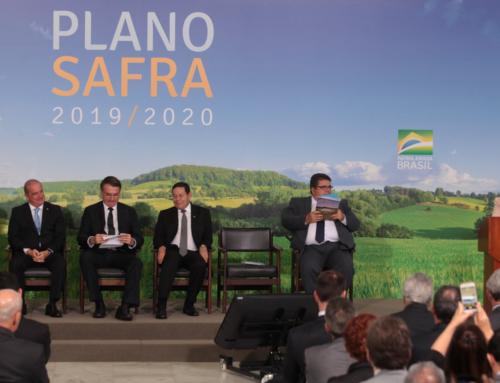 Contratações pelo Plano Safra atingem R$38,9 bi na safra 2019/20